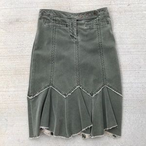 """Corduroy skirt """"Louie"""" from Anthropologie 2"""